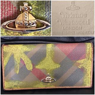Vivienne Westwood - ヴィヴィアンウエストウッド送料込¥定価3万程レザー革ウォレット長財布イタリア製