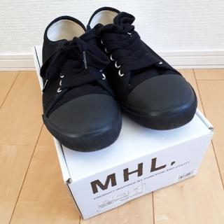 マーガレットハウエル(MARGARET HOWELL)の【キラキラ様】MHL  スニーカー UK3(スニーカー)
