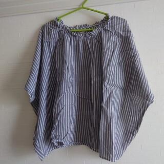 サマンサモスモス(SM2)のSM2 衿フリルブラウス(シャツ/ブラウス(半袖/袖なし))
