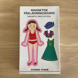 フライングタイガーコペンハーゲン(Flying Tiger Copenhagen)のフライングタイガー 着せかえ人形 マグネット(知育玩具)