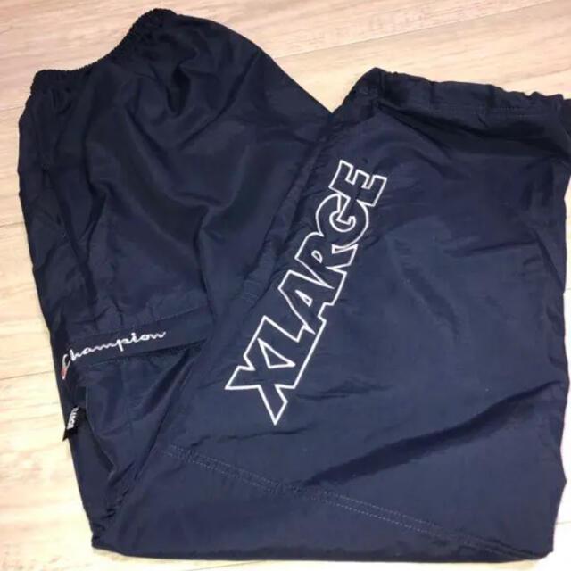 XLARGE(エクストララージ)のXLARGE × championコラボパンツ メンズのパンツ(ワークパンツ/カーゴパンツ)の商品写真