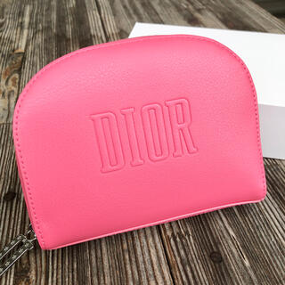 Dior - ディオール ノベルティ ポーチ 桃色 新品未使用正規品