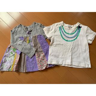 ラグマート(RAG MART)のラグマート Tシャツ100&長袖95セット(Tシャツ/カットソー)