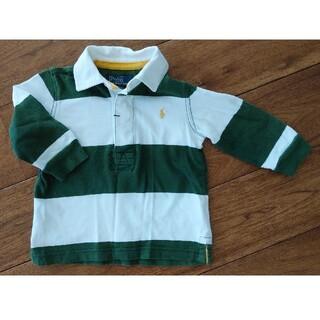 POLO RALPH LAUREN - Polo RALPH LAUREN 80cm(大きめ)ラガーシャツ