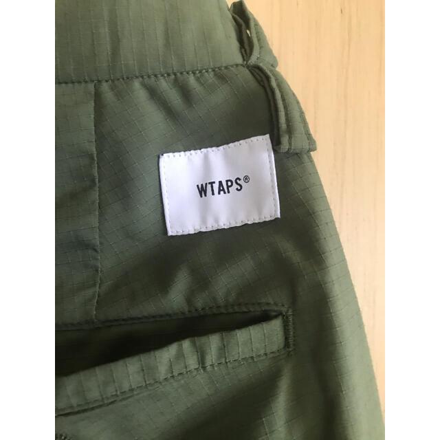 W)taps(ダブルタップス)のWTAPS TUCK TROUSERS COPO RIPSTOP COOLMAX メンズのパンツ(スラックス)の商品写真