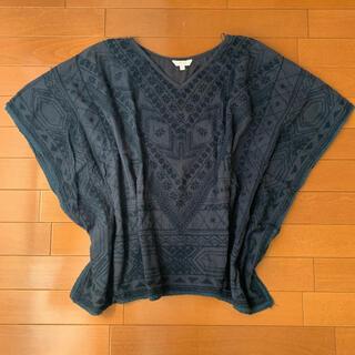 ハリウッドランチマーケット(HOLLYWOOD RANCH MARKET)のHOLLYWOOD RANCH MARKET  刺繍ブラウス(Tシャツ(半袖/袖なし))