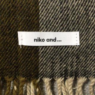 ニコアンド(niko and...)のニコアンド(マフラー)