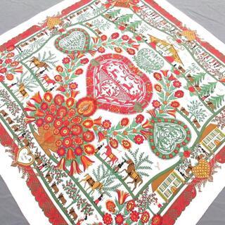 エルメス(Hermes)のHERMES(エルメス) スカーフ美品  カレ90(バンダナ/スカーフ)