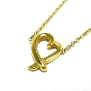 ティファニー(Tiffany & Co.)のティファニー ネックレス美品  K18YG(ネックレス)