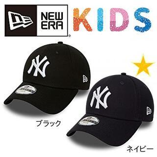 ニューエラー(NEW ERA)のNEW ERA ニューヨークヤンキース キャップ 9FORTY キッズ ネイビー(帽子)