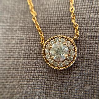AHKAH - AVARON k18ダイヤモンドネックレス