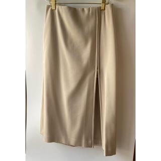 スピックアンドスパンノーブル(Spick and Span Noble)の新品未使用 スピック&スパン ジッパースカート 40サイズ(ロングスカート)
