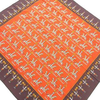 エルメス(Hermes)のHERMES(エルメス) スカーフ美品  カレ70(バンダナ/スカーフ)