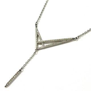 スワロフスキー(SWAROVSKI)のスワロフスキー ネックレス - シルバー(ネックレス)