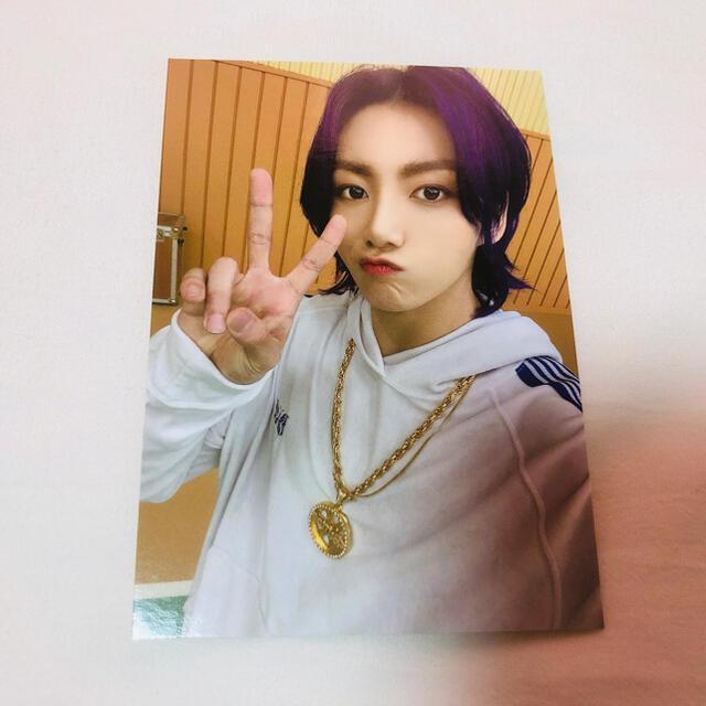防弾少年団(BTS)(ボウダンショウネンダン)のButter  トレカ  ジョングク エンタメ/ホビーのCD(K-POP/アジア)の商品写真