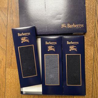 BURBERRY - バーバリー 男性用靴下 3足セット