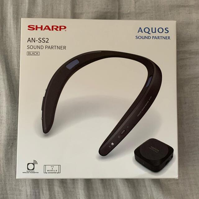 SHARP(シャープ)の【とし様専用】AQUOSサウンドパートナー AN-SS2-B ブラック スマホ/家電/カメラのオーディオ機器(スピーカー)の商品写真