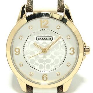 コーチ(COACH)のコーチ 腕時計 - CA.13.7.34.0648 シルバー(腕時計)