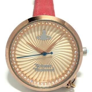 ヴィヴィアンウエストウッド(Vivienne Westwood)のヴィヴィアン 腕時計 - VV139RSBL ゴールド(腕時計)