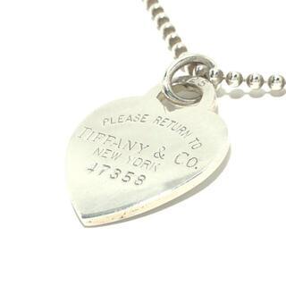 ティファニー(Tiffany & Co.)のティファニー ネックレス シルバー(ネックレス)