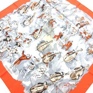 エルメス(Hermes)のエルメス スカーフ カレ90 CONCERTO(バンダナ/スカーフ)