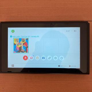 ニンテンドースイッチ(Nintendo Switch)のNintendo Switch 旧型 本体のみ 中古 動作品(携帯用ゲーム機本体)