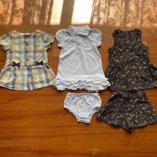 ポロラルフローレン(POLO RALPH LAUREN)の子供服80〜90女の子3着セット(ワンピース)