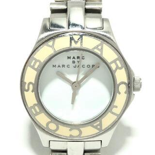 マークバイマークジェイコブス(MARC BY MARC JACOBS)のマークジェイコブス 腕時計 - MBM3049 白(腕時計)