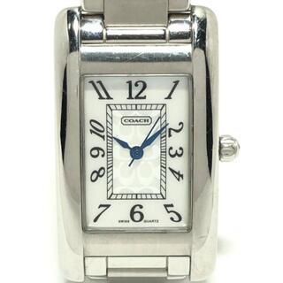 コーチ(COACH)のコーチ 腕時計 ミニシグネチャー柄 0313(腕時計)