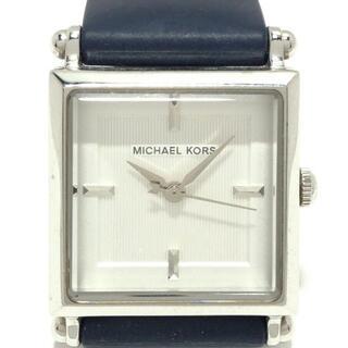 マイケルコース(Michael Kors)のマイケルコース 腕時計 - MK2138 白(腕時計)