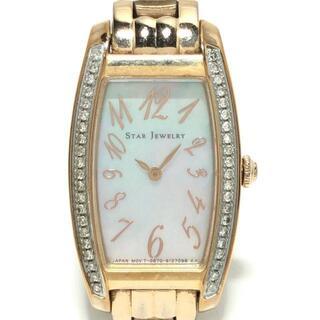スタージュエリー(STAR JEWELRY)のスタージュエリー 腕時計 - G670-S088364(腕時計)