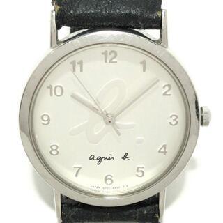 アニエスベー(agnes b.)のアニエスベー 腕時計 - V701-6840 シルバー(腕時計)