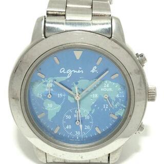 アニエスベー(agnes b.)のアニエスベー 腕時計 - V654-6100 ボーイズ(腕時計)