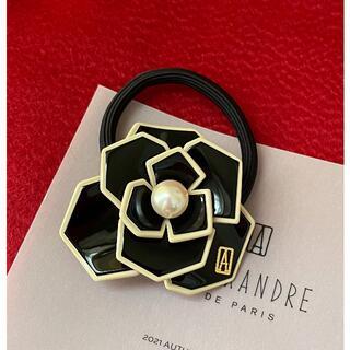 Alexandre de Paris - アレクサンドル ドゥ パリ 50th ヘアゴム 黒