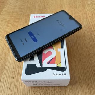 Galaxy - Galaxy A21(SC-42A)ブラック