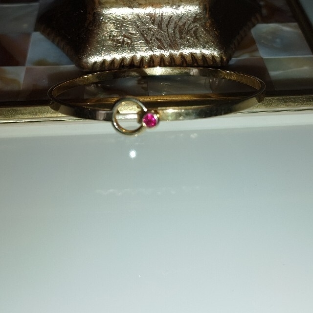 Tiffany & Co.(ティファニー)のティファニー バングル  k18 750  ブレスレット フックアイ  レディースのアクセサリー(ブレスレット/バングル)の商品写真