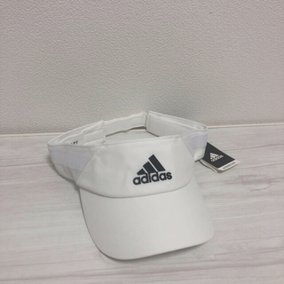 adidas - adidas アディダス サンバイザー 帽子 キャップ