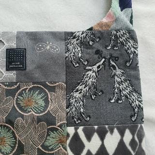 mina perhonen - ミナペルホネン ピースバッグ グレーミックス wolf&flower