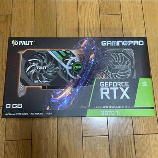 [新品未開封、保証付き] Palit GeForce RTX 3070 Ti