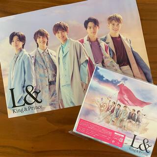 Johnny's - キンプリ L& 初回限定盤B DVD クリアポスター付き