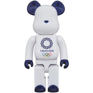 メディコムトイ(MEDICOM TOY)のBE@RBRICK オリンピックエンブレム 400% ベアブリック(その他)