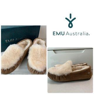 EMU - emu ケアンズリバー ファー モカシン