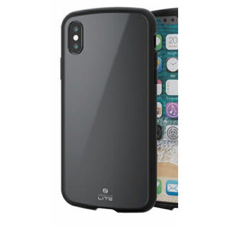 ELECOM - iPhoneXR ケース TOUGH SLIM LITE 耐衝撃 ブラック