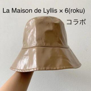 ビューティアンドユースユナイテッドアローズ(BEAUTY&YOUTH UNITED ARROWS)のLa Maison de Lyllis × 6(roku) コラボ ハット(ハット)
