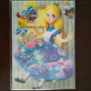 Disney - 『ふしぎの国のアリス』ディズニー3Dポストカード
