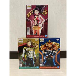 BANPRESTO - ヒロアカ フィギュア AGE   OF  HEROES  3体
