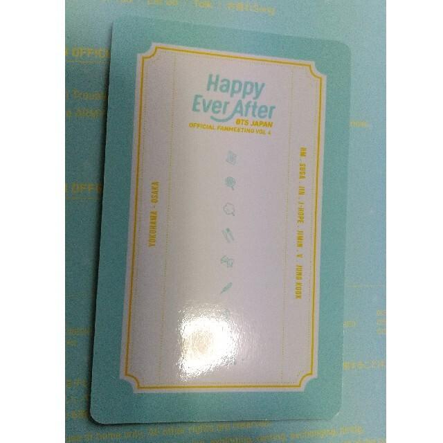【即日発送】BTS Happy Ever After トレカ SUGA ユンギ  エンタメ/ホビーのCD(K-POP/アジア)の商品写真