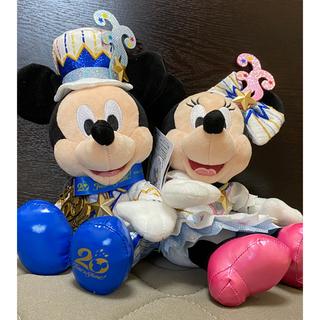 Disney - 厳選❤ディズニー❤ペアぬい❤20周年❤ペアぬいぐるみ❤グッズ❤ミッキー❤ミニー