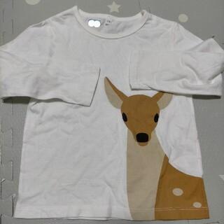 ムジルシリョウヒン(MUJI (無印良品))の【美品】可愛い長袖  110cm(Tシャツ/カットソー)