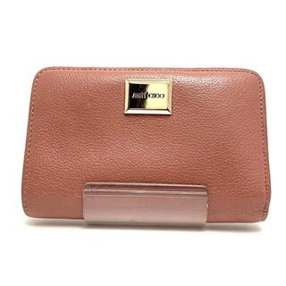 ジミーチュウ(JIMMY CHOO)のジミーチュウ 2つ折り財布 - レザー(財布)